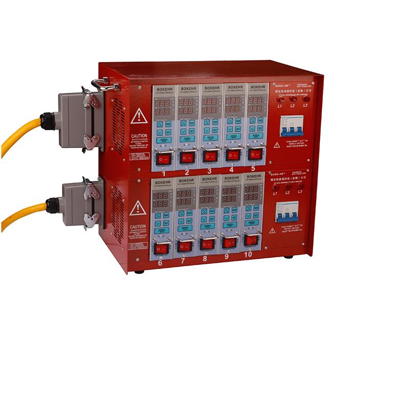 高精度1-48组模具温控箱热流道配